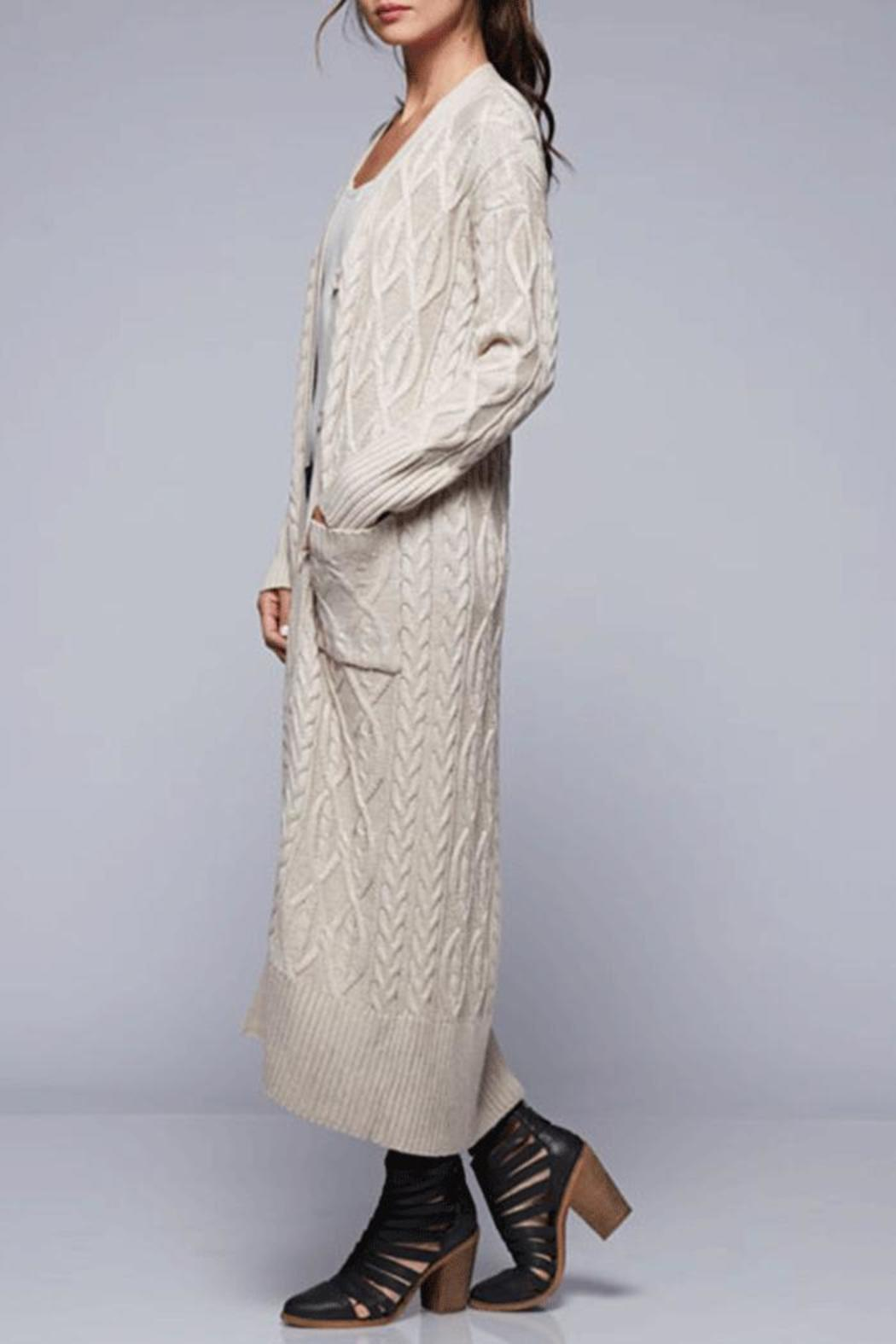 Lovestitch Cable Knit Maxi Cardigan from California by Nadya's ...
