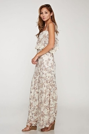 Love Stitch Dainty-Floral Lace Maxi - Front full body