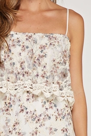 Love Stitch Dainty-Floral Lace Maxi - Back cropped