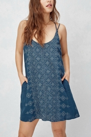 Love Stitch Embroidered Front Dress - Product Mini Image