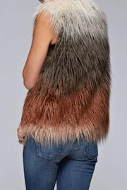 Lovestitch Faux Fur Ombre Vest - Other