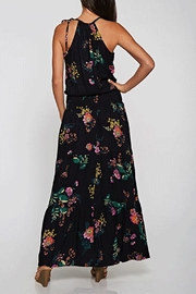 Love Stitch Floral Maxi Dress - Front full body