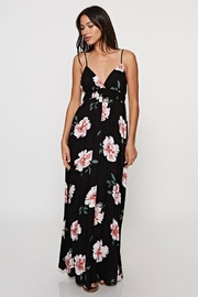 Love Stitch Floral Print Maxi-Dress - Product Mini Image