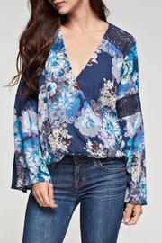 Lovestitch Floral Print Top - Product Mini Image