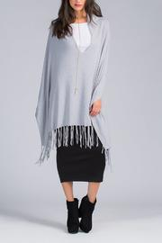 Lovestitch Granite Fringe Poncho - Product Mini Image