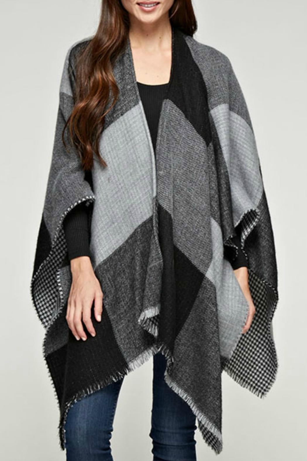 Love Stitch Kensington Reversible Poncho - Main Image