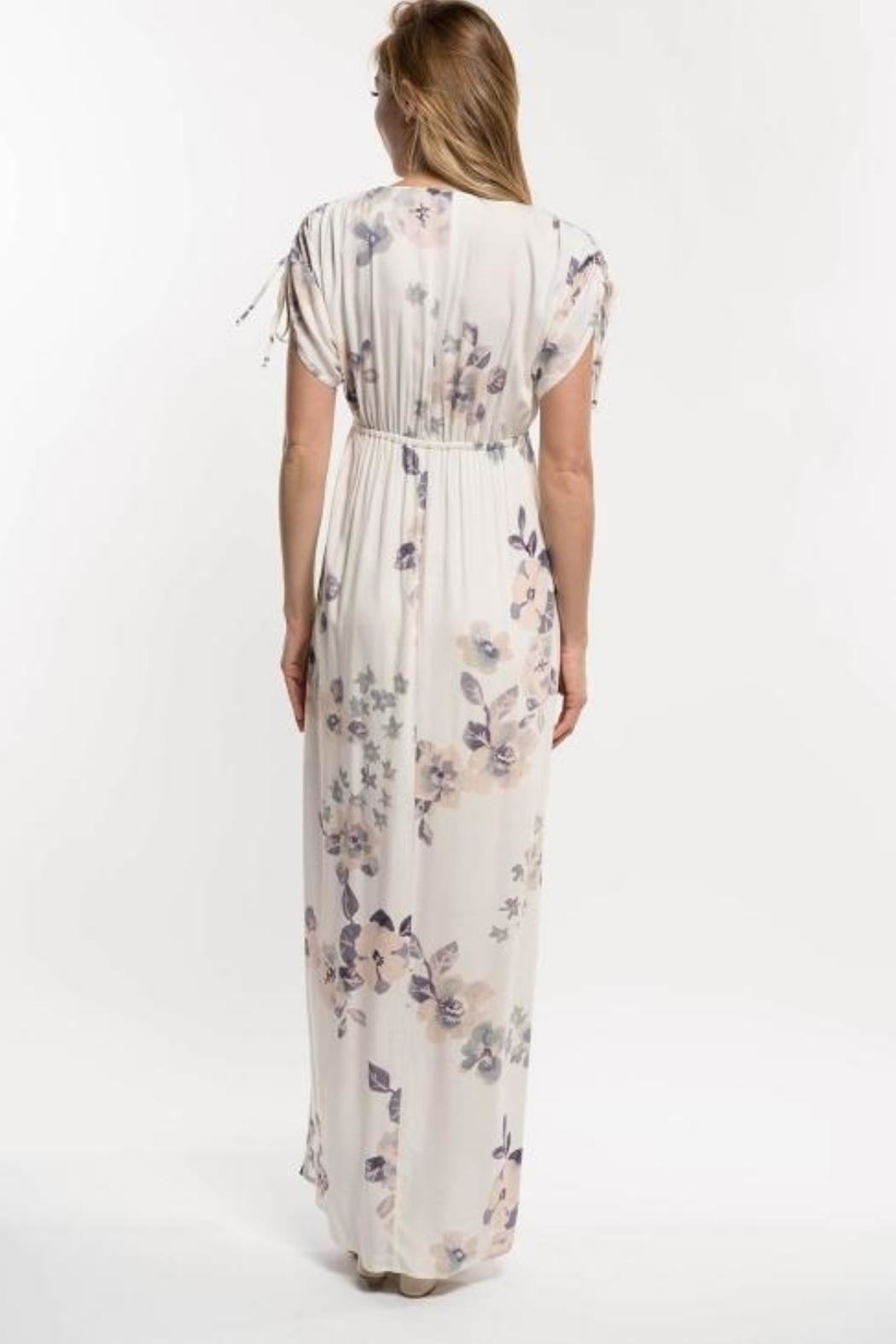 Love Stitch Lavender Floral Maxi - Front Full Image