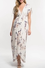 Love Stitch Lavender Floral Maxi - Front cropped