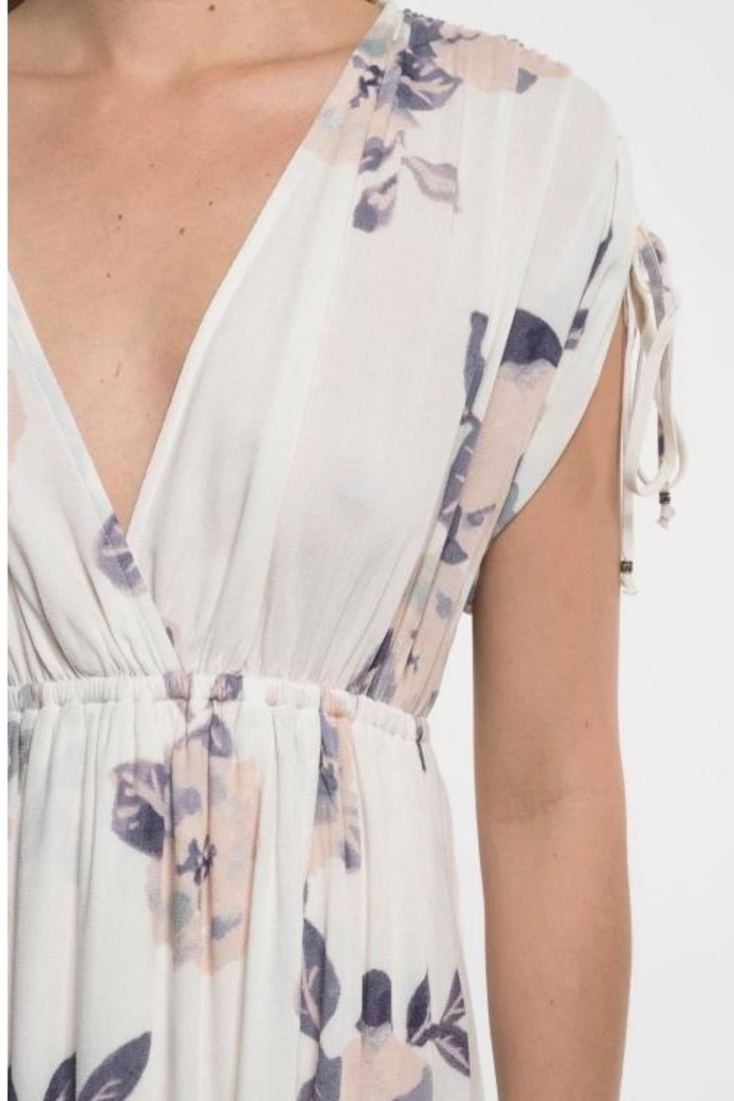 Love Stitch Lavender Floral Maxi - Side Cropped Image