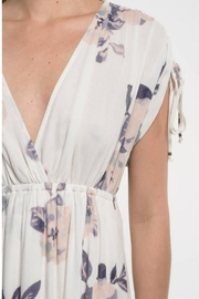 Love Stitch Lavender Floral Maxi - Side cropped
