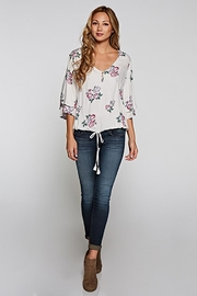 Love Stitch Layered Sleeve Top - Other