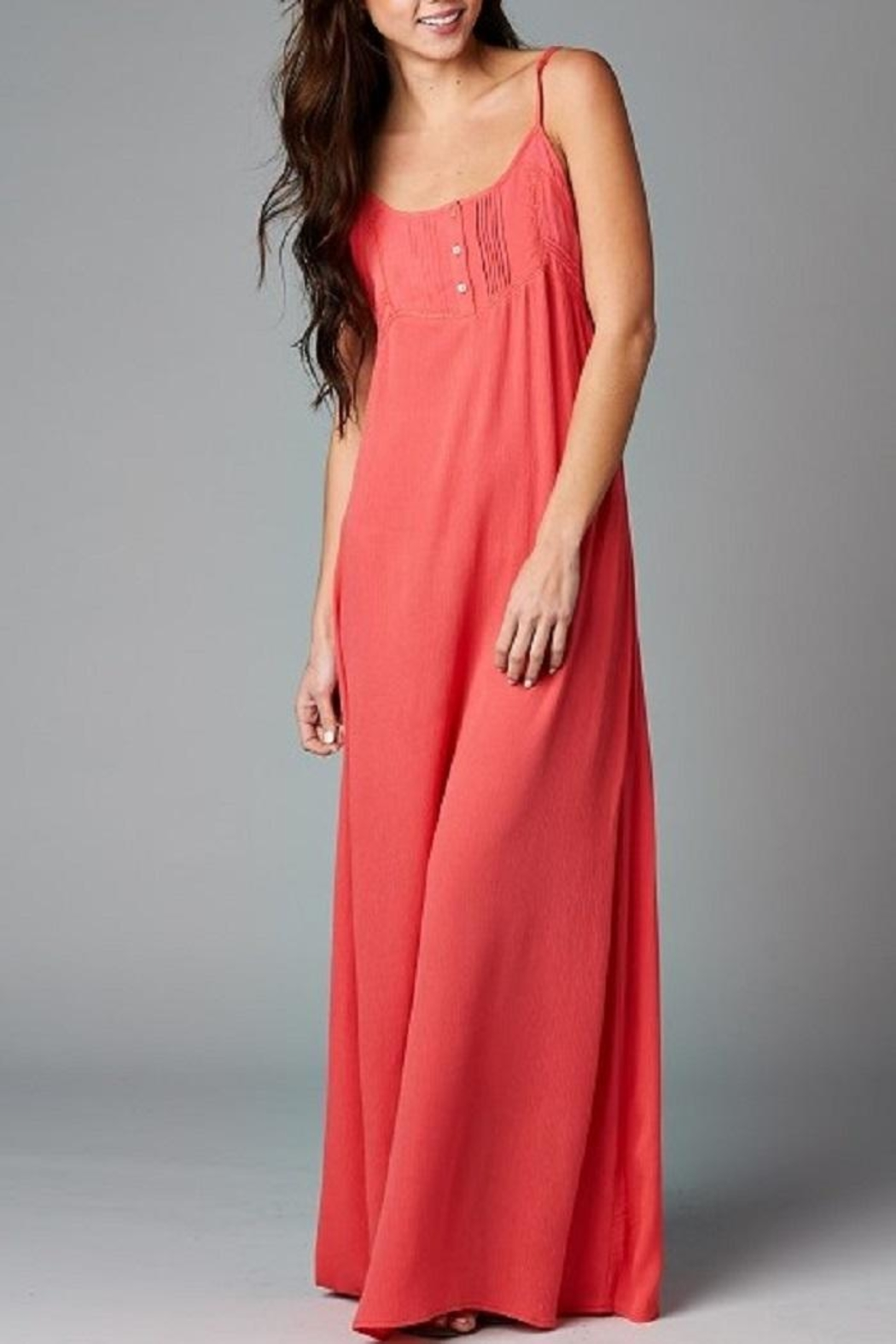 Love Stitch Naturally Relaxed Maxi - Front Cropped Image