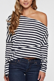 Love Stitch Off  Shoulder Sweater - Product Mini Image