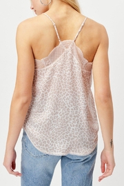 Love Stitch Printed Lingerie Tank - Front full body
