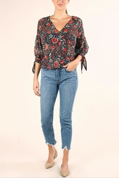 Love Stitch Sheer Floral Top - Product List Image