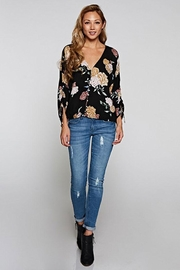 Love Stitch Shirred Sleeve Top - Other