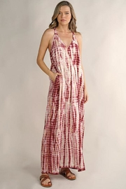 Love Stitch Sleeveless Halter Neck Maxi Dress - Product Mini Image