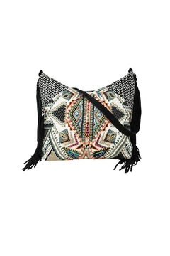Shoptiques Product: Tapestry Fringe Bag