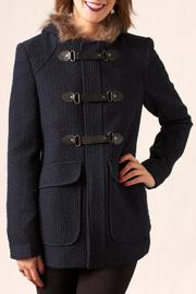 Lovestitch Textured Paddington Coat - Product Mini Image