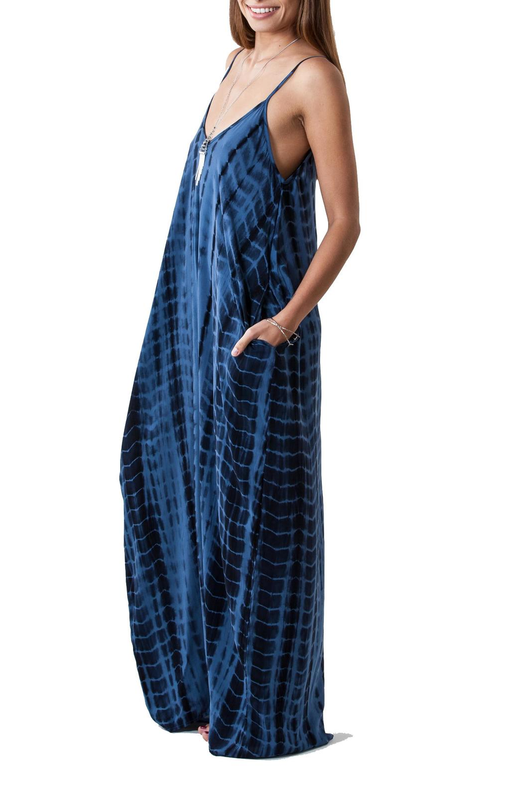 Lovestitch Tie Dye Maxi - Back Cropped Image