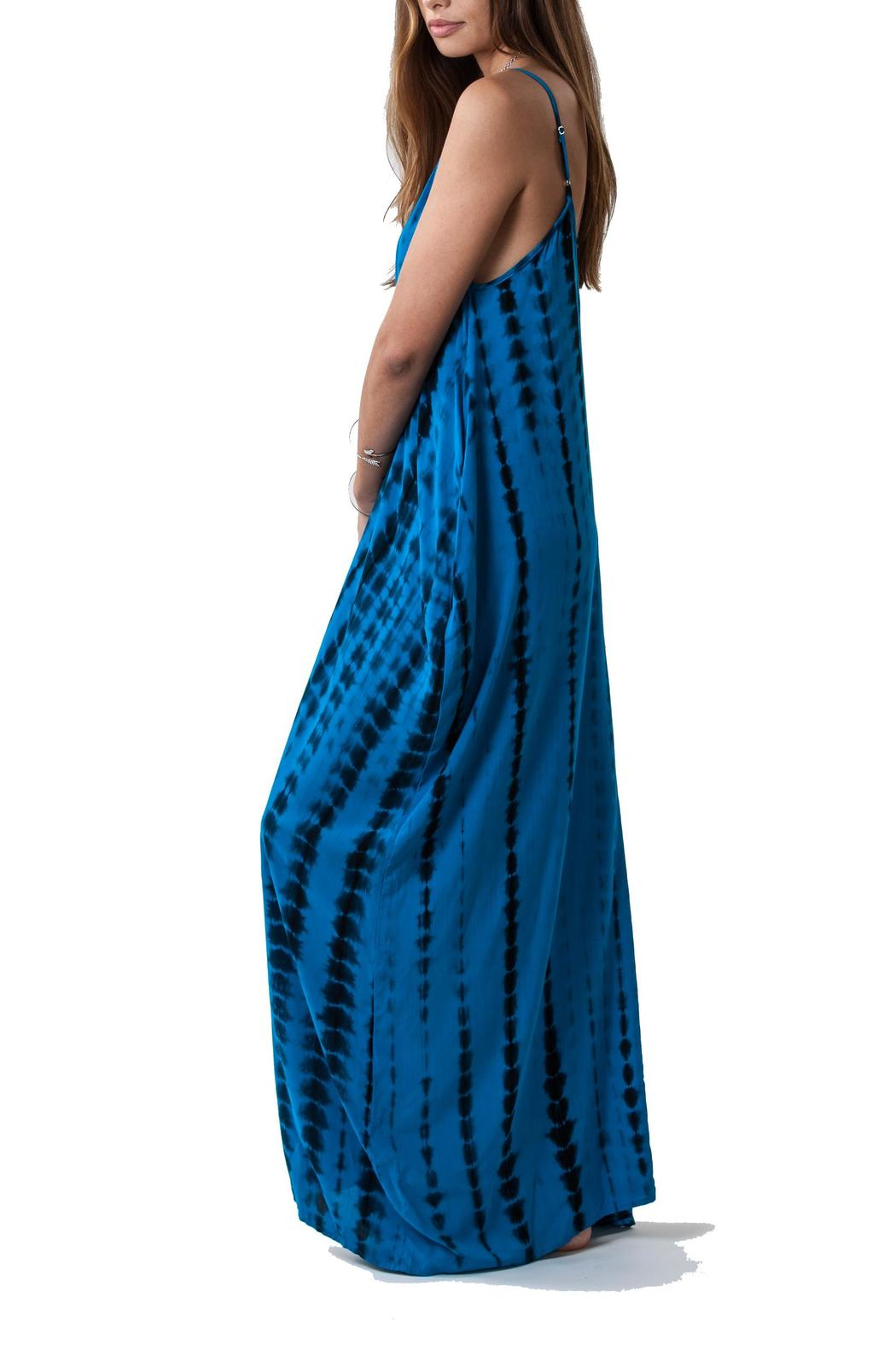 Lovestitch Tie Dye Maxi - Side Cropped Image
