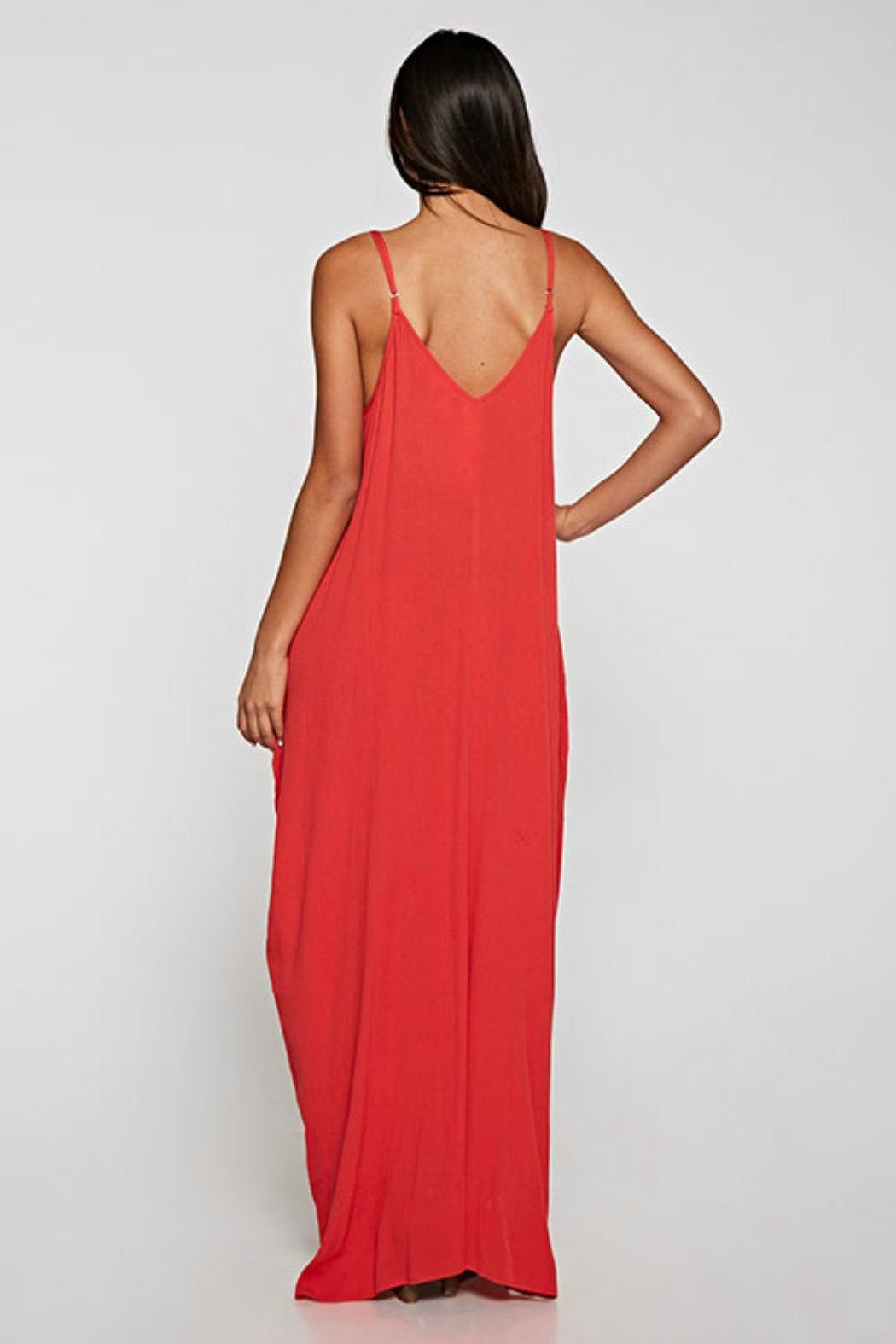 Love Stitch Valentines Day Maxi - Side Cropped Image