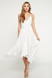 Love Stitch White Beach Dress - Product Mini Image