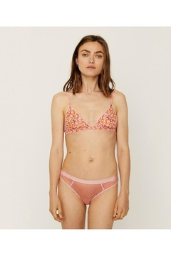 Love Stories Uma Bralette Layered Floral Pink - Product List Image