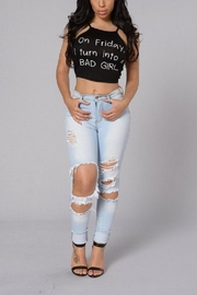 Love The Classic On Friday Top - Front cropped