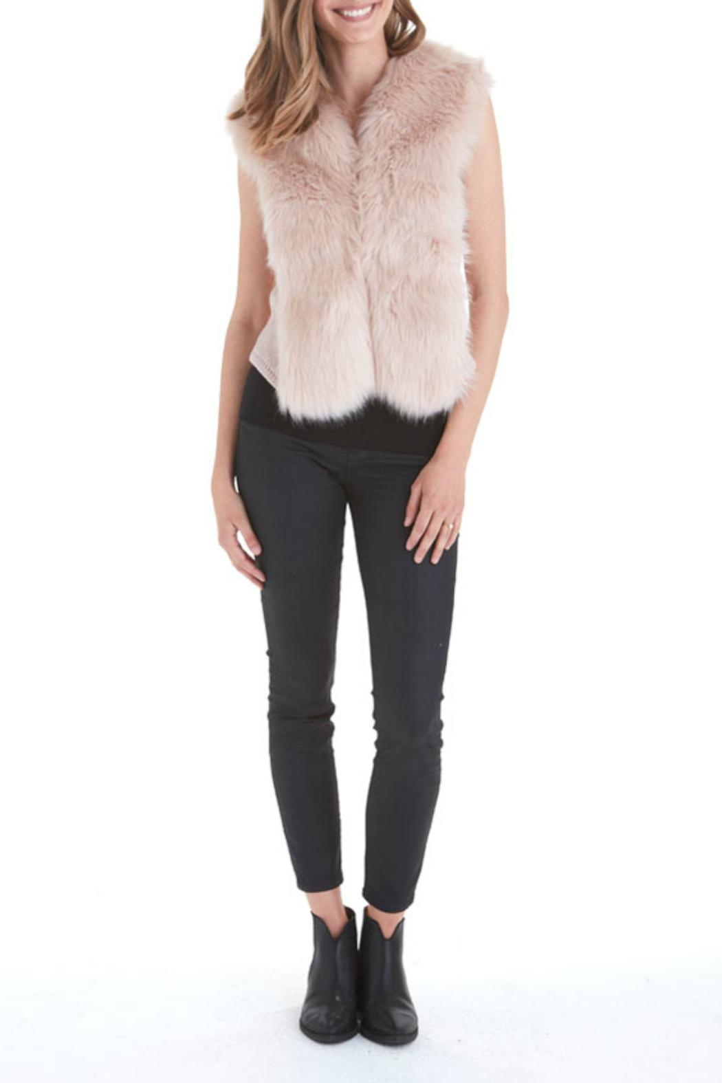 love token Alexandra Fur Vest - Main Image