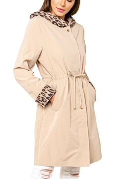 love token Animal Accent Trench - Product List Image