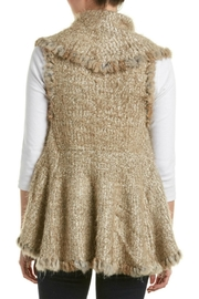 love token Danielle Fur Vest - Front full body