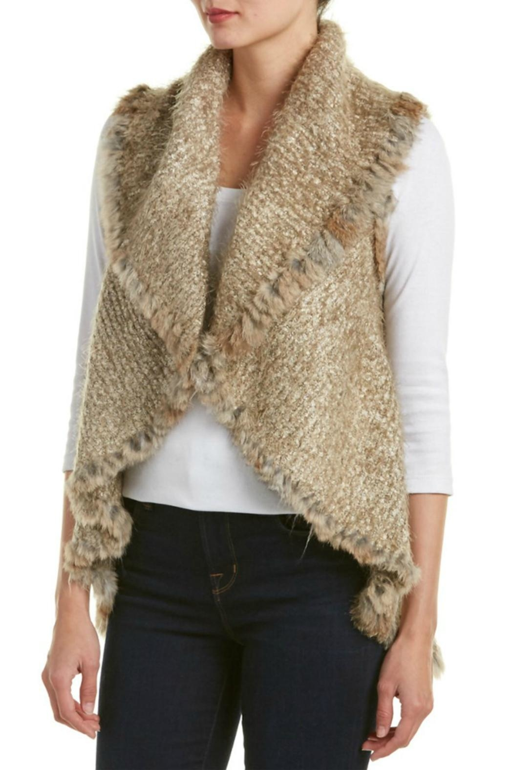 love token Danielle Fur Vest - Main Image