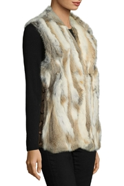 love token Savannah Fur Vest - Front full body