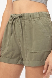 Love Tree Angeline Shorts (Available In: Black, White, Olive, Lilac) - Product Mini Image