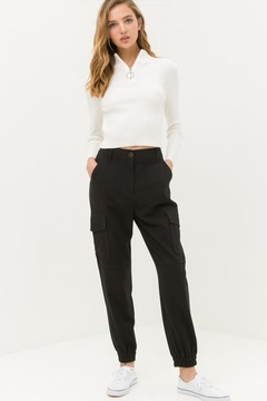 Shoptiques Product: Black Cargo Pants
