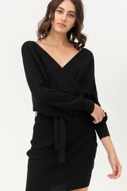 Love Tree Black Date Nite Dress - Front cropped