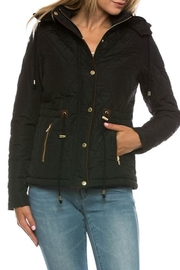 Love Tree Black Quilted Jacket - Product Mini Image