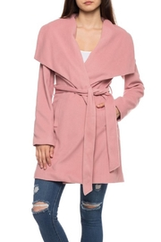 Love Tree Blush Classy Coat - Front cropped