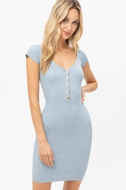 Love Tree Bodycon Mini Dress - Front cropped