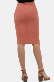 Love Tree Bodycon Pencil Skirt - Side cropped