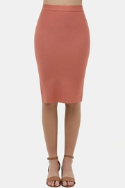 Love Tree Bodycon Pencil Skirt - Product Mini Image