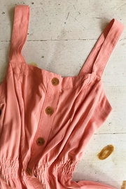 Love Tree Button Down Dress - Front cropped