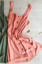 Love Tree Button Down Dress - Side cropped