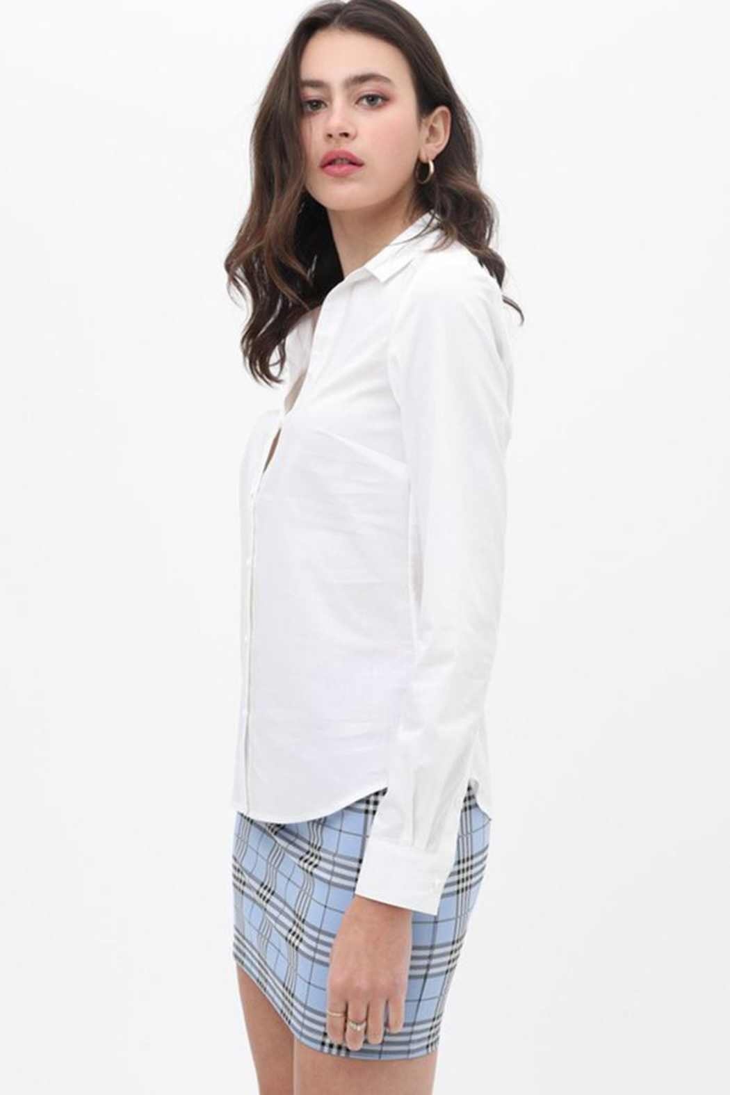 Love Tree Button Up Top - Front Full Image