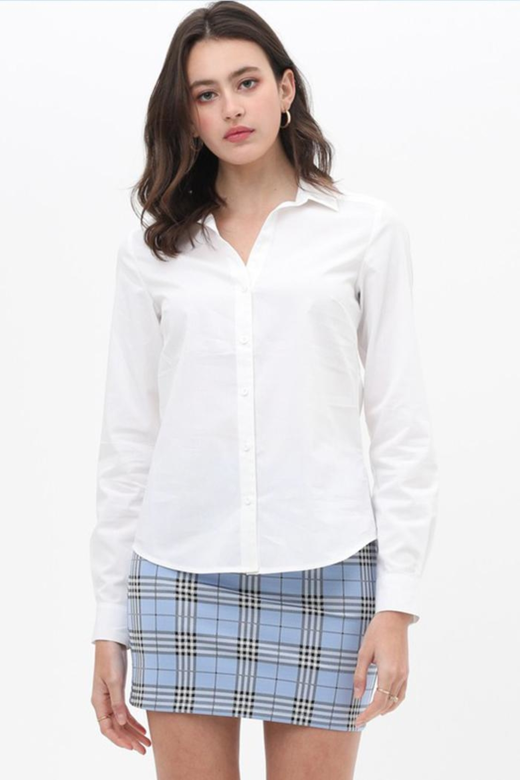 Love Tree Button Up Top - Main Image