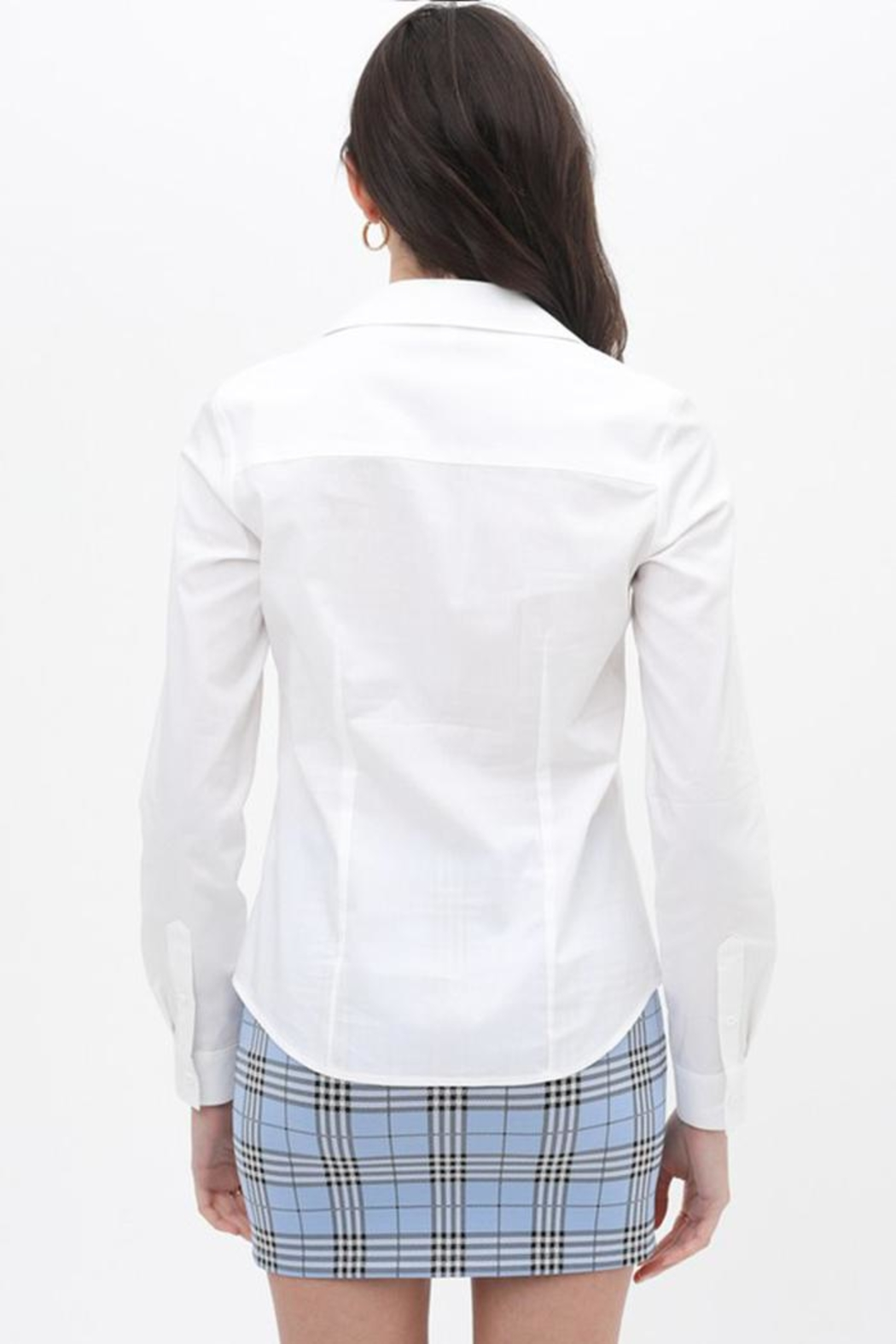 Love Tree Button Up Top - Side Cropped Image