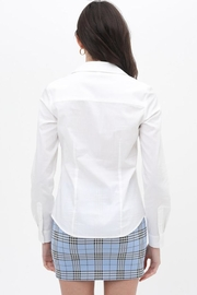 Love Tree Button Up Top - Side cropped