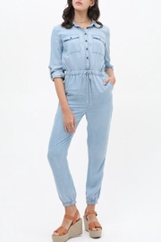Love Tree Buttoned Jumpsuit - Product Mini Image