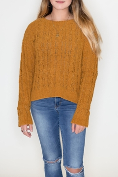 Love Tree Cable Knit Sweater - Product List Image